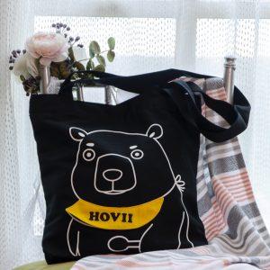 熊好用帆布提袋