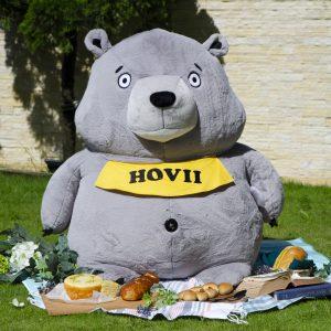 100 cm Hovii熊胖胖大玩偶